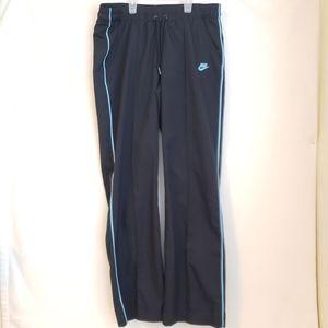 Nike Jogging Pants Black with Blue Stripe